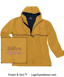 Youth New Englander Rain Jacket by Charles River Design Zoom